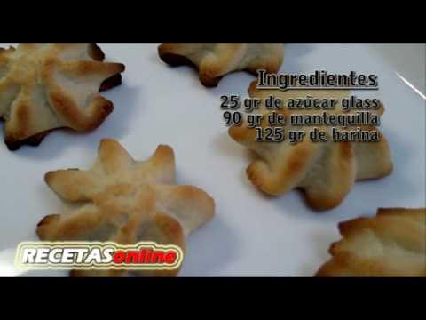 Pastas de té - Recetas de cocina RECETASonline