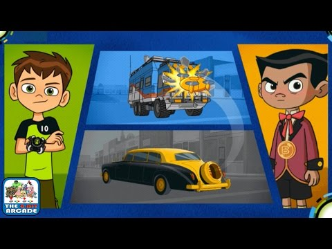 Ben 10: Power Surge - Don't Let Billy Billions Escape With The Rustbucket (Cartoon Network Games)