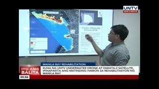 UNTV Underwater Drone at Diwata-2 satellite, ipinapakita ang matinding hamon sa Manila Bay rehab