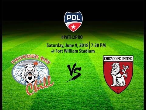 Thunder Bay Chill vs Chicago FC United Saturday June 9 2018  FWS