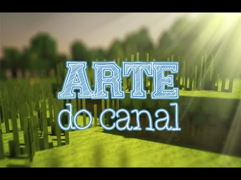 como criar uma arte do canal 2014 hd youtube. Black Bedroom Furniture Sets. Home Design Ideas