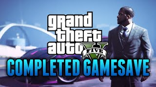GTA 5 - 100% Completed Game Save for GTA 5 PC Storymode (All Unlocked, $2+ Billion & More)