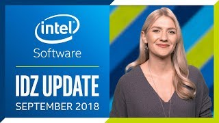 Intel® Developer Zone Update | September 2018 | Intel Software