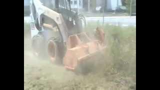 Video Brush mower Euro Implementos