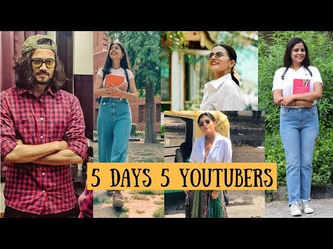 I Dressed Like YouTubers For 5 Days | Srishti's Diary