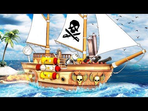 ТЮНИНГ КОРАБЛЯ! КУПИЛИ НОВЫЙ ГАЛЕОН ЗА 140.000 ЗОЛОТЫХ МОНЕТ И МОРСКИЕ СРАЖЕНИЯ В SEA OF THIEVES