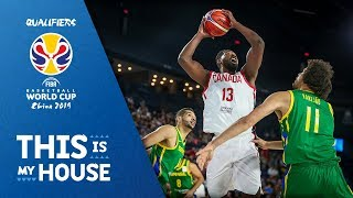 Canada vs Brazil - Highlights - FIBA Basketball World Cup - Americas Qualifiers