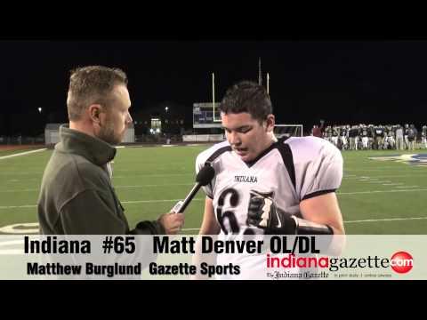 Friday Night Extra Edition: Indiana Indians Matthew Denver  October 24, 2014