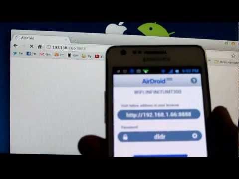 Sincroniza tu Android sin cables: Airdroid (Español Mx)