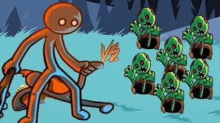 Stick War Legacy | Stickman HACK Unlimited Gems: GIANT AVATAR vs Zombies - Android GamePlay