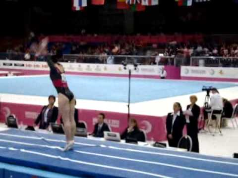 Catalina PONOR ROU Senior Qualification, European Gymnastics Championships 2012 Vault