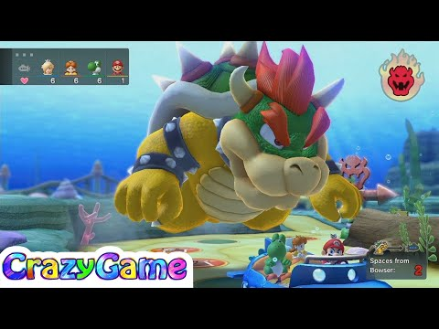 Mario Party 10 Bowser Party #17 Whimsical Waters (Team Bowser)