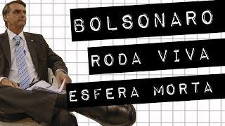 BOLSONARO  | RODA VIVA  | ESFERA MORTA #meteoro.doc