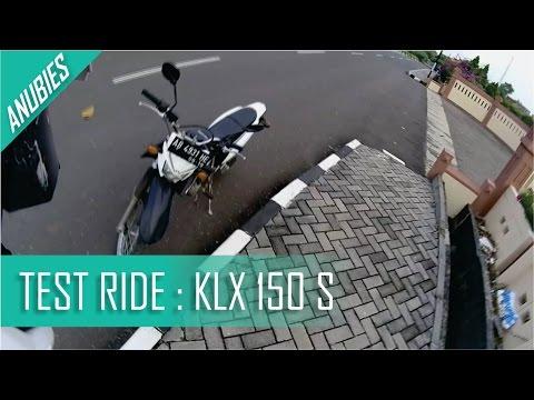 [Bahasa] Test Ride KLX 150 S   F-KING CLOSE CALL !!!   Motovlogs Indonesia