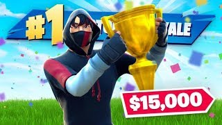 How I WON $15,000 by TROLLING In Fortnite