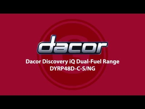 Dacor Discovery iQ Dual-Fuel Range (DYRP48D-C-S/NG) - Goemans Product Spotlight