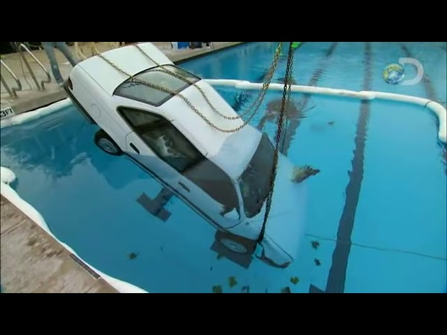 Can Adam Escape a Sinking Car? | MythBusters - YouTube