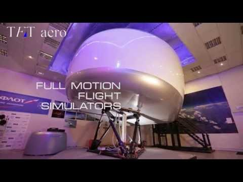 TFT aero entertainment full flight simulators