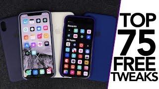 Top 75 Best FREE iOS 12.1.2 Jailbreak Tweaks! A12 Compatible Tweaks!