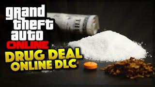 GTA 5 Online - Drug Dealing DLC & Buying Properties (GTA 5 Gameplay)