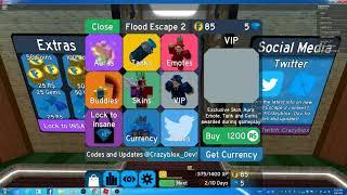 ROBLOX,lac troi den game flood escape