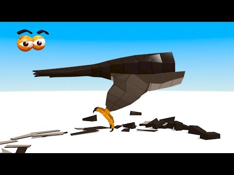 CUBE BUILDER for KIDS (HD) - Build Falcon for Children - AApV