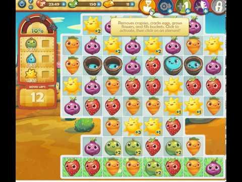 Farm Heroes Saga Level 99 Tough level. See tip!