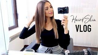 GETTING MY HAIR DONE & BEST SUPPLEMENTS FOR SKIN | Vlog #27 | Annie Jaffrey