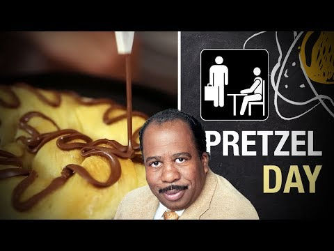 Pretzel Day - The Office | Miolos Fritos Culinária Nerd