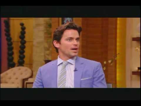 Matt Bomer on Live! With Kelly (7/10/12)