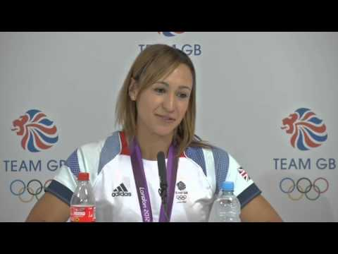 Jess Ennis: Olympic heptathlon champion speaks after winning gold at London 2012
