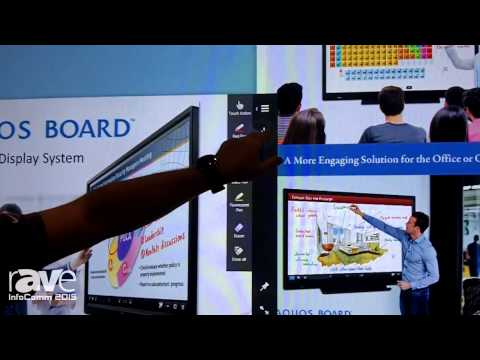 InfoComm 2015: Sharp Showcases Aquos Board PN-L803C