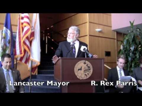 R. Rex Parris Taks about Lancaster Blvd