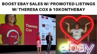 LIVE TIPS & Q&A! How to Boost Sales w/ eBay Promoted Listings w/ Tteresa Cox and @10konthebay