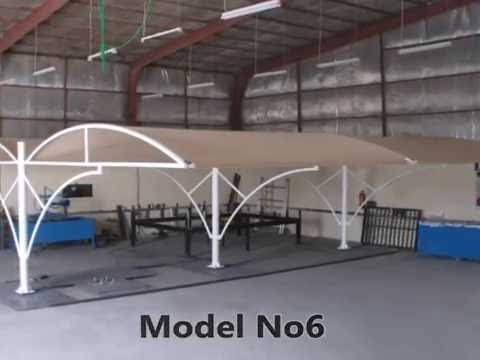 Specialized In Cantilever Carports, Unique Parking Shades, Industrial Parking Shelters, Structures