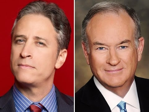 Bill O'Reilly Tries To Correct Jon Stewart, Fails