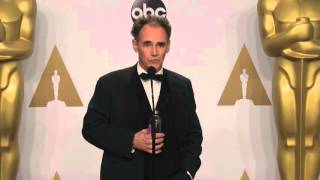 Bridge of Spies: Mark Rylance (Best Supporting Actor) Oscars Backstage Interview (2016)