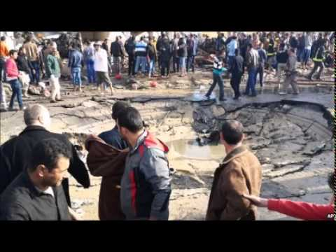 Egypt's Sinai Peninsula hit by deadly bomb attacks