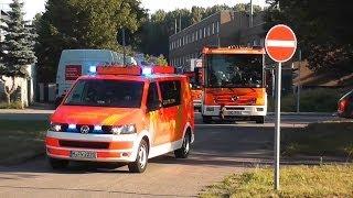 Alle 5 Löschzuge der BF Hannover (HD)