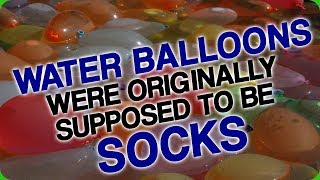 Water Balloons Were Originally Supposed to be Socks (Alternate Uses of Condoms)