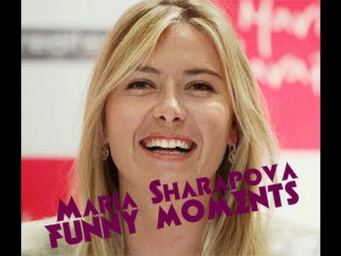 Maria Sharapova Funny Moments