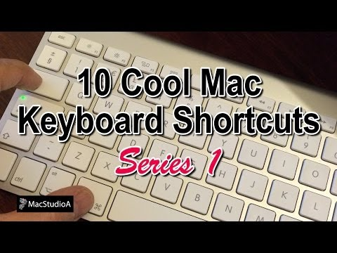 10 Mac Keyboard Shortcuts - Series 1