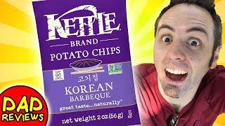 KOREAN BBQ CHIPS | Korean BBQ Chips Kettle Taste Test & Review