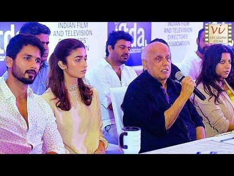 Mahesh Bhatt Slams Censorship Of Udta Punjab | Six Sigma Films