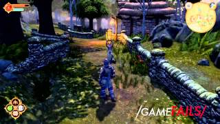 "Game Fails: Fable Anniversary ""Impeccable posture"""