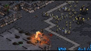EffOrt (Z) v Flash (T) on Match Point - StarCraft  - Brood War REMASTERED