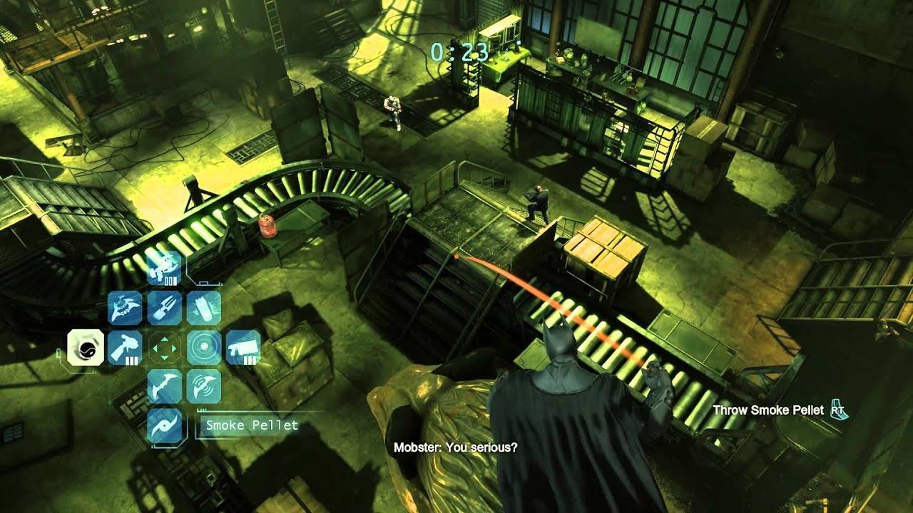 Batman Arkham Origins Predator Challenges Batman Arkham Origins Hidden