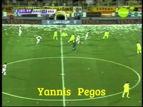 FC Aris - Sporting Braga 1-1 Uefa Cup 6/12/07 (full)  HQ