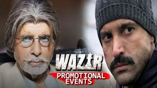 Wazir Full Movie | Amitabh Bachchan, Farhan Akhtar, Aditi Rao Hydari | Uncut Promotional Events