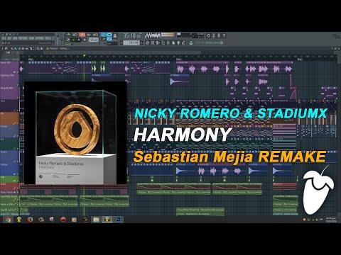 Nicky Romero & Stadiumx - Harmony (Original Mix) (FL Studio Remake + FLP)